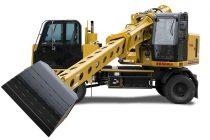 Excavatorul cu braț telescopic Gradall XL 3100 V are acum motor Volvo