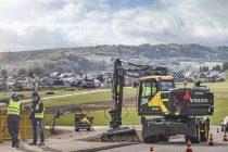 Volvo EWR170E – swing into action