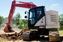 Noul excavator cu rază minimă Link-Belt 145 X4 MSR, pentru versatilitate în spații reduse