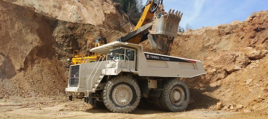 Camioanele rigide Terex Trucks cresc productivitatea la exploatarea de cupru Roșia Poieni