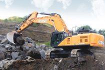 Mai mare, mai puternic, mai rapid – noul excavator de talie mare CASE CX750D