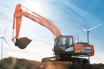 Noul excavator hidraulic hibrid Hitachi îmbină tehnologia cu ultimele inovații