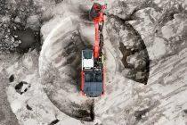 Sandvik a prezentat la Steinexpo o nouă foreză cu ciocan de suprafață