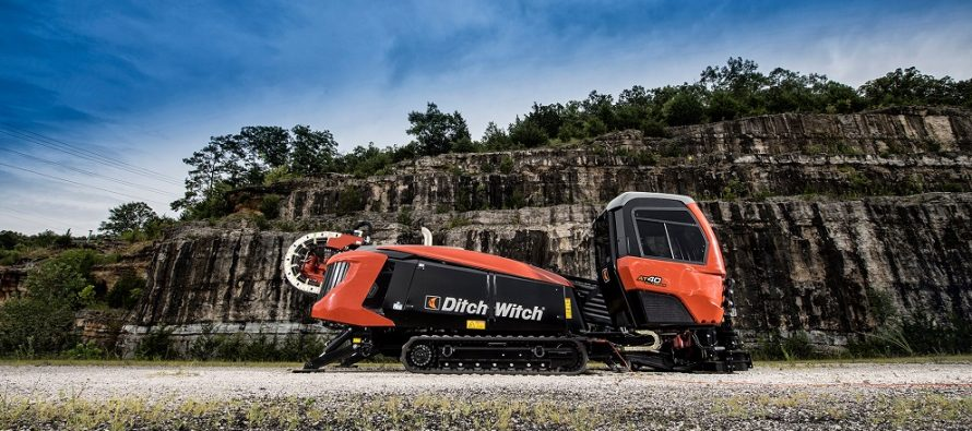Foreza HDD Ditch Witch AT40 All Terrain optimizează performanțele de săpare în rocă dură