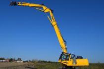Komatsu e la înălțime cu noul excavator PC390HRD‐11