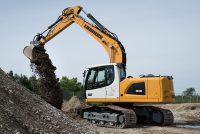 Noul excavator pe șenile Liebherr R 918