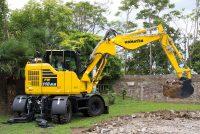 Performață în spații limitate cu noul excavator mediu Komatsu PW118MR‐11