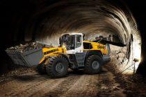 Versiuni speciale de încărcătoare frontale Liebherr XPower pentru aplicații în tuneluri