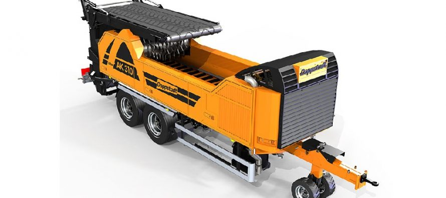Mic și puternic: noul tocător Doppstadt AK 310 EcoPower