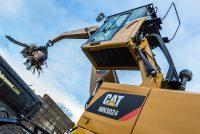 Design specific adaptat aplicației pentru noile excavatoare de manipulare a materialelor CAT