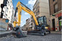 Noul excavator Yanmar ViO57-6 este mai compact