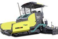 Ammann introduce o nouă linie de finisoare de asfalt