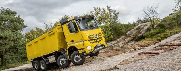 Arocs – specialistul din rândul camioanelor grele pentru construcții