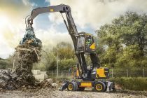 Volvo CE is introducing its strongest material handler yet: the all-new EW240E