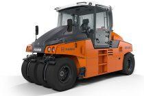 Hamm prezintă în premieră noul cilindru compactor pe pneuri GRW 280i