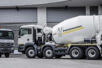 Mixerele de beton Intermix (Putzmeister) includ sistemul Ergonic Mixer Control
