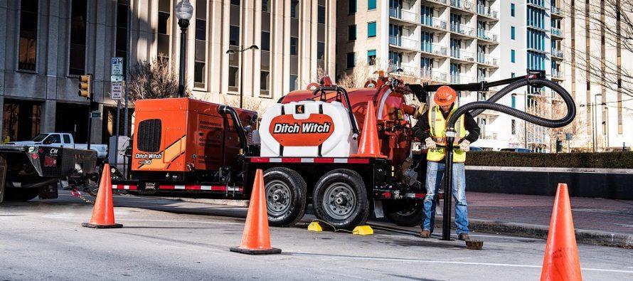 Ditch Witch adaugă trei noi modele în seria HX de echipamente de excavat prin aspirare