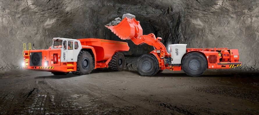 Sandvik instalează motoare Volvo Penta Stage V pe gama sa de încărcătoare și camioane subterane