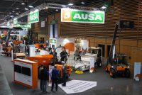 AUSA surprised attendees with its latest innovations at Intermat 2018