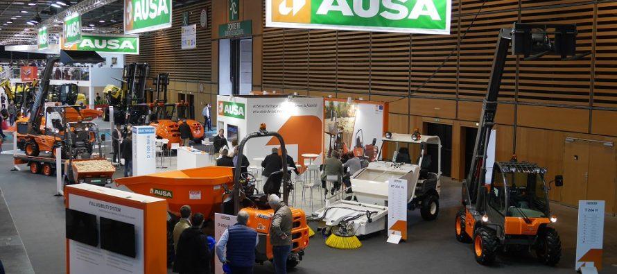 AUSA a surprins asistența la Intermat 2018 cu ultimele sale inovații