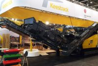 World premiere in a new design for Keestrack R3e at Intermat 2018