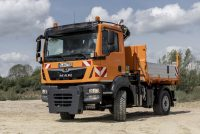 MAN a prezentat la IFAT 2018 soluții de vehicule pentru aplicații municipale