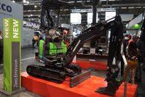 Eurocomach a surprins audiența la Intermat 2018 cu un concept de miniexcavator electric