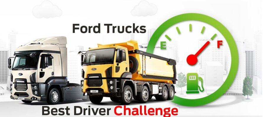 Prima ediție a competiției Ford Trucks Best Driver Challenge