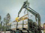 Ponsse K121- more efficiency to forwarder load handling