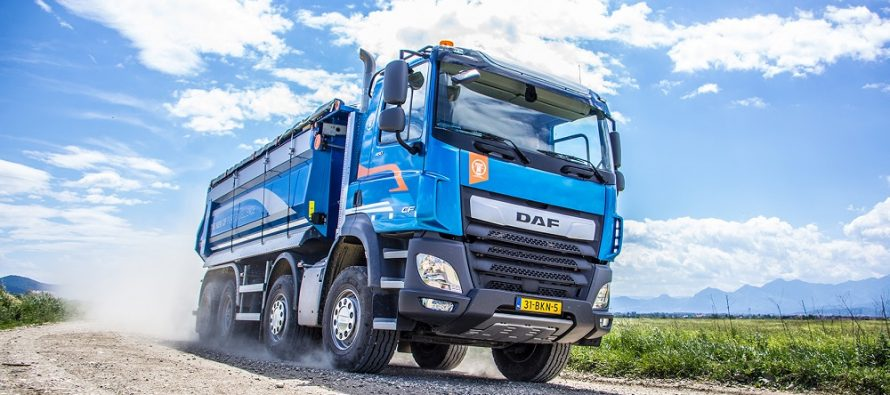 "Testarea noilor camioane DAF, distinse cu trofeul ""International Truck of the Year"" 2018"