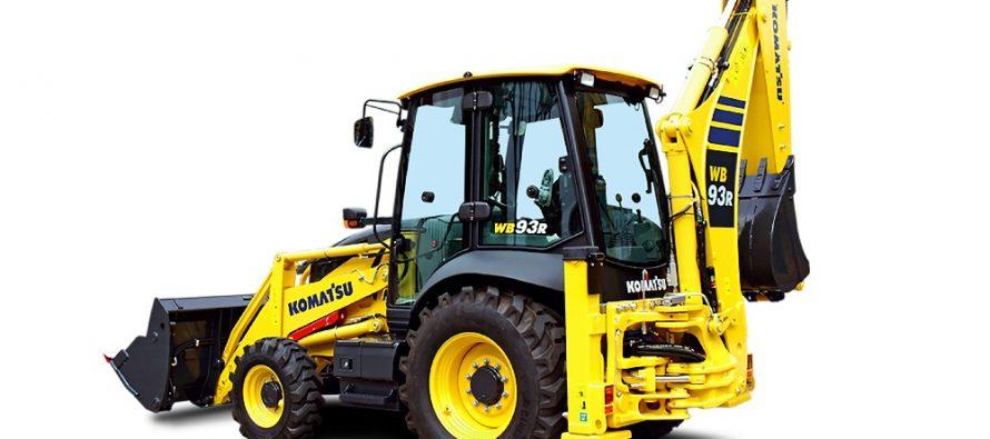 Komatsu înnoiește gama de buldoexcavatoare