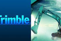 Trimble anunță disponibilitatea din fabrică a opțiunii Trimble Ready pentru anumite excavatoare Kobelco