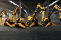Brokk a lansat la Intermat 2018 patru noi roboți pentru demolări