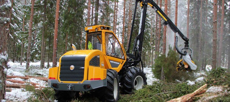 Sampo Rosenlew HR46x, un harvester agil și ușor pentru rărituri