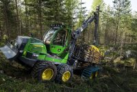 John Deere 910G and 1010G forwarders available in multiple configurations supplement the G-Series line-up