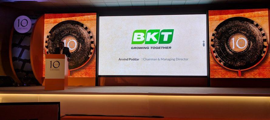 BKT, la a zecea aniversare a gamei Earthmax