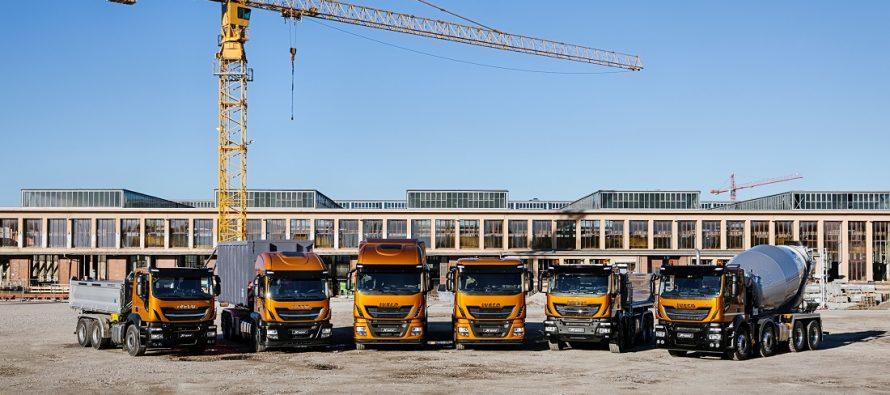 Noul Stralis X-WAY și o gamă de vehicule cu motoare pe gaz natural pentru sectoarele Road Building, Urban Construction și Recycling, la Intermat 2018