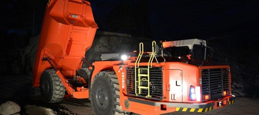 Camioanele subterane pentru minerit Sandvik sunt acum mai inteligente