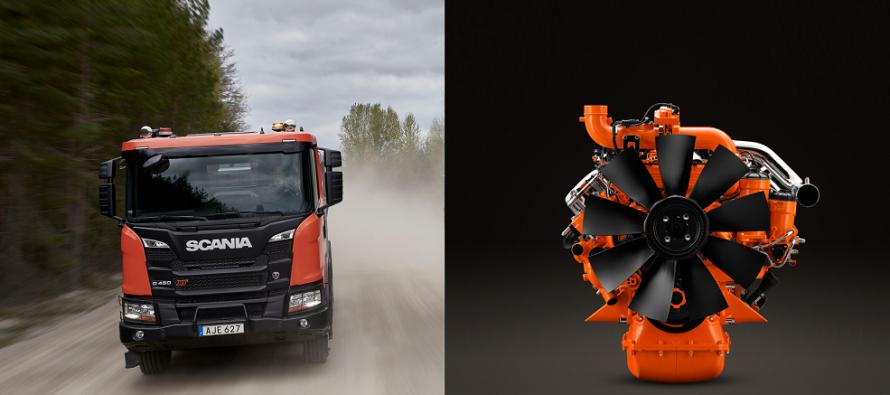 O gamă completă Stage V și soluții Scania, la Intermat 2018