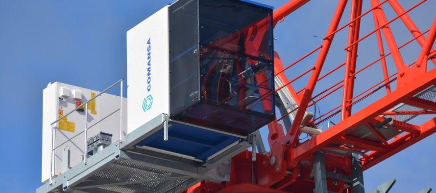 Producătorul spaiol de macarale turn revine la numele unic de brand, Comansa