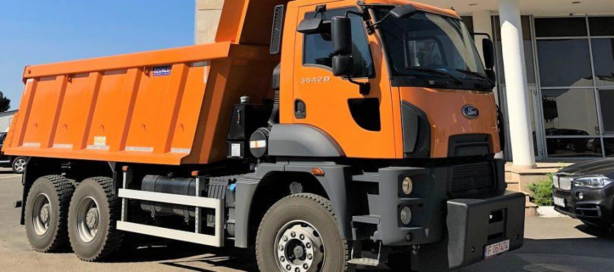 Vehiculele Ford Trucks clădesc performanța în domeniul construcțiilor