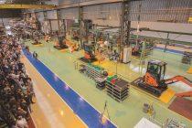 Hitachi și-a modernizat fabrica de miniexcavatoare din Europa