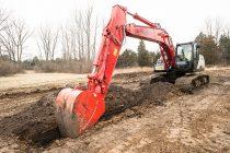 Tehnologia 2D Grade Control crește productivitatea și precizia excavatorului Link-Belt 210 X4