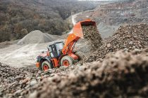 Hitachi tackles toughest working conditions with the new ZW330-6 wheel loader