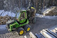 John Deere to showcase at Finnmetko the G-Series small forwarders and the market's smartest tool for logging planning & monitoring