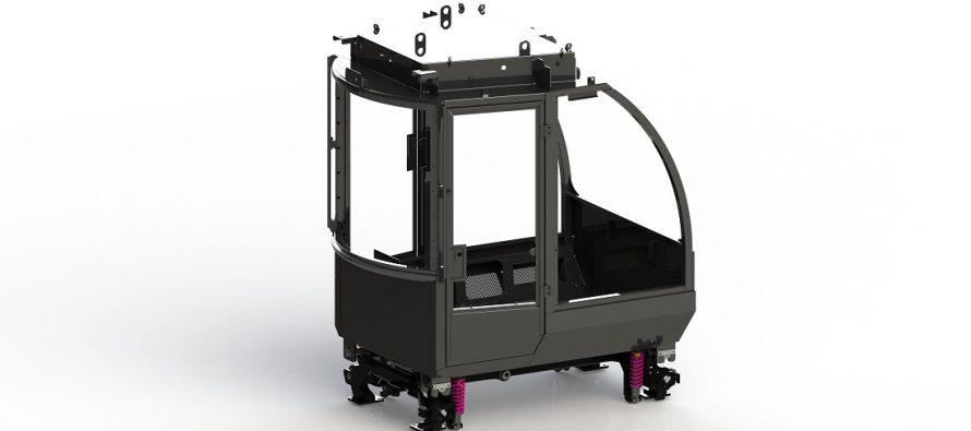 Logset a dezvoltat o nouă suspensie pentru cabină