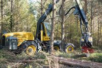 Eco Log launches the 550 T-PRO, a six-wheeled harvester optimized for thinning