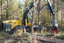 Eco Log lansează 550 T-PRO, un harvester cu șase roți optimizat pentru rărituri
