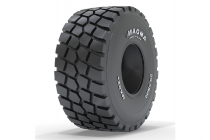 The new Magna MA02+ tire for Articulated Dump Trucks