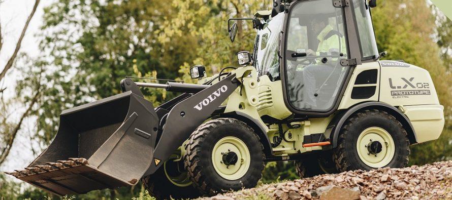 Volvo CE prezintă conceptul de încărcător frontal electric LX2